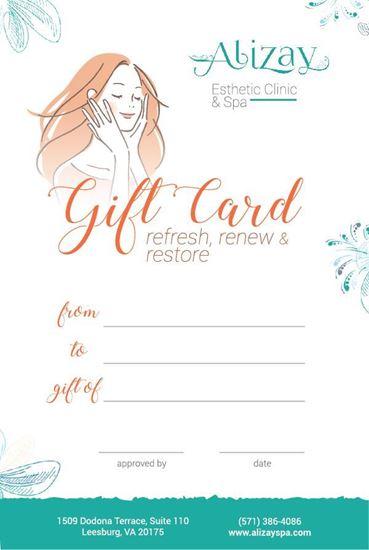 Picture of AlizaySpa E-Gift Card Style 1