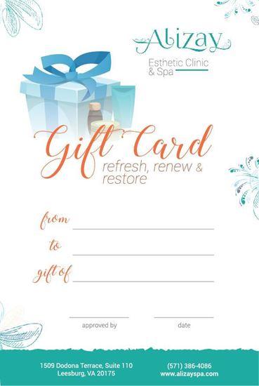Picture of AlizaySpa E-Gift Card Style 2